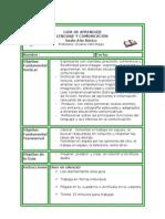 GUÍA DE APRENDIZJE. para adecuación curricular