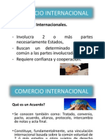 9.1 Acuerdos Internacionales