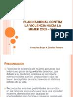Plan Nacional Contra La Violencia Hacia La Mujer