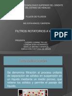 Filtros Rotatorios Equipo 3