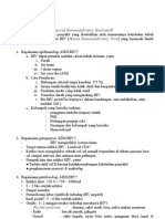 AIDS, Difteri, Influenza
