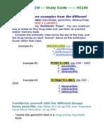 HS140 Unit 4 Quiz Study Guide