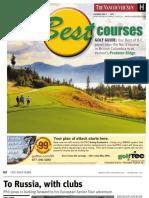 Vancouver Sun Golf Guide 2013