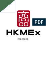 HKMEx Rulebook
