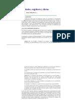 Articulo Municipalidades, Regidores y Dietas