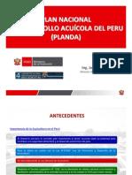 Plan Nacional de Desarrollo Acuicola - Pnda (Dga 2009)