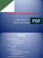 TECNICAS RADIOGRAFICAS