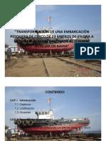 Transformacion de Una Embarcacion Pesquera 1