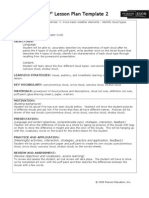 siop lesson plan template2clouds