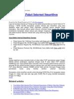 Cara Daftar Paket Internet Smartfren Connex