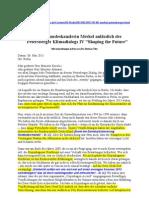 Merkel-Rede zum Petersberger Klimadialog