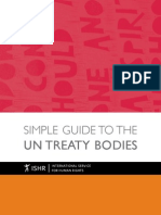 Simple Guide to the UN Treaty Bodies