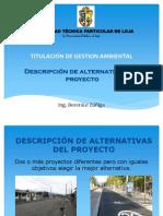 Descripcion de Alternativas de Un Proyecto
