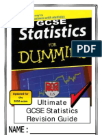 Revision Guide for statistics GCSE