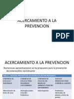 Acercamiento a La Prevencion