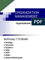 Mc Kinsey 7-S Framework
