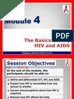 MODULE 4 (Basics of STI, HIV & AIDS).pptx