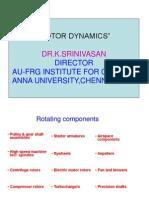 Rotordynamicsslides Dr.K.S