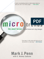 Microtrends the Small Forces Behind Tomorrow s Big