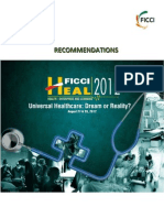 FICCI HEAL 2012 Recommendations