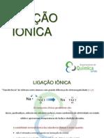 Aula 12 - Ligacao Ionica