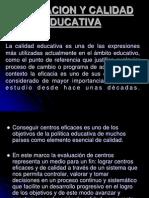 EVALUACION Y CALIDAD EDUCATIVA.ppt