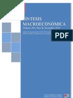 SINTESIS MACROECONÓMICA