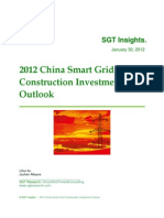 2012 China Smart Grid Construction Investment Outlook SGTResearch