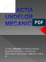 Difractia undelor mecanice