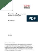 Biogenics & Biosimilars