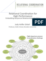 Hoffer Gittell, J - Relational Coordination for Compassion and Business Conference