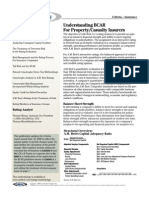 Understanding BCAR for Property/Casualty Insurers