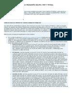 AVISO CAMBIO IP PÚBLICA MEDIANTE DELPHI, PHP Y MYSQL