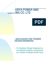 Wayleaves Course for utility company staff