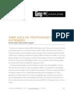 GIMP vs PS r2
