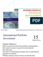 15 International Portfolio Investment