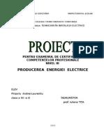 Atestat Producerea energiei electrice