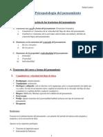 Tema 5. Psicopatología del pensamiento