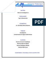 CONTAMINACIÓN DE AGUAS SUBTERRÁNEAS (1)