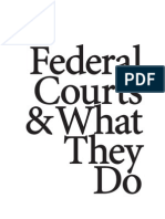 Federal Courts What They Do