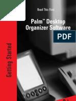 Palm Desktop Organizer Software - Read This First