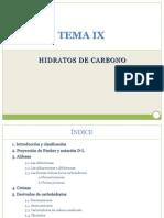 TEMA IX Carbohidratos