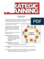 Strategic Plan Template 1-10