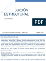 Composiscion Estructural Guion Tecnico