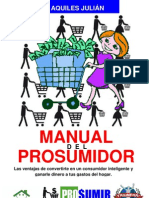 MANUAL DEL PROSUMIDOR, POR AQUILES JULIÁN