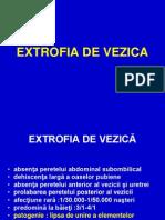 Extrofia de Vezica