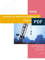 A vision on how to contribute to Organizations