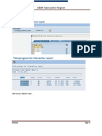 ABAP Interactive Report