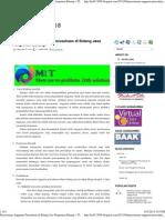 Penyusunan Anggaran Perusahaan Di Bidang Jasa Pengriman Barang ~ IT - 4KA02 2008