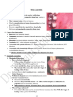 5- Oral Ulceration